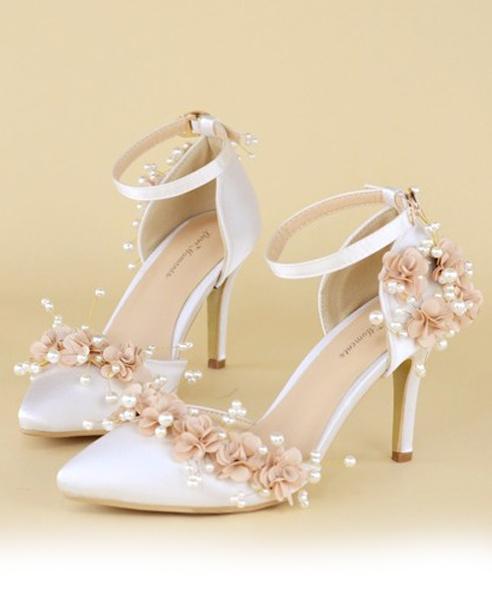 Kết quả hình ảnh cho giày đính hoa